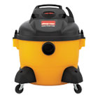 SHO9650610 - Right Stuff Wet/Dry Vacuum, 8 Amps, 19lbs, Yellow/Black