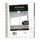 AAG7091410 - Executive Monthly Planner Refill, 6 5/8 x 8 3/4, White, 2017