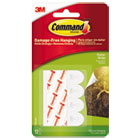 MMM17024ES - Poster Strips, White, 12/Pack