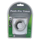 PMWTNI2412 - Push-Pin Timer, 1 Outlet, 15 Amps, White