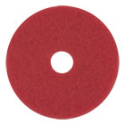 "BWK4020RED - Standard Floor Pads, 20"" dia, Red, 5/Carton"