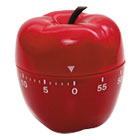 "BAU77042 - Shaped Timer, 4"" dia., Red Apple"