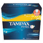 PGC00455BX - Pearl Tampons, Regular, 36/Box