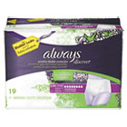 PGC92735 - Discreet Incontinence Underwear, Small/Medium, Maximum Absorbency,19/Pk,3Pk/Ctn
