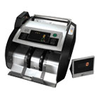 RSIRBC2100 - Elect. Bill Ctr w/Counterfeit Detection,1000 Bills/Min., 13x91/2x7 9/10, BK/SR