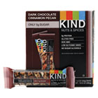 KND17852 - Nuts and Spices Bar, Dark Chocolate Cinnamon Pecan, 1.4 oz, 12/Box