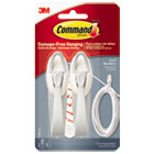 MMM17304ES - Cable Bundler, White, 2/Pack