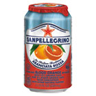 NLE43349 - Sparkling Fruit Beverages, Aranciata Rossa (Blood Orange), 11.15 oz Can, 12/Ctn