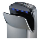 "WRLV639A - VMax Hand Dryer, High Impact ABS, 26 1/4"" x 9 1/4"" x 16"", Silver"