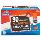 EPIE556 - Washable School Glue Sticks, 30/Box