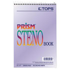 TOP80264 - Prism Steno Books, Gregg, 6 x 9, Orchid, 80 Sheets, 4 Pads/Pack