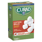 "MIICUR110163 - Sterile Cotton Balls, 1"", 130/Box"