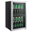 ALERFBC34 - 3.4 Cu. Ft. Beverage Cooler, Stainless Steel/Black