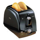 SUN39101 - Extra Wide Slot Toaster, 2-Slice, 7 x 11 1/2 x 7.8, Black