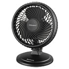 "HLSHAOF87BLZNUC - Lil' Blizzard 7"" Two-Speed Oscillating Personal Table Fan, Plastic, Black"