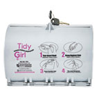 STOTGUDPV2 - Tidy Girl Plastic Feminine Hygiene Disposal Bag Dispenser, Gray