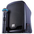 APLSW725 - Bluetooth Wireless Portable Media Player PA System, 36W, Black
