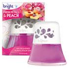 Scented Oil Air Freshener Diffuser, Fresh Petals and Peach, Pink, 2.5oz BRI900134EA