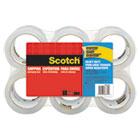 """3850 Heavy-Duty Tape Refills, 1.88"""" x 54.6yds, 3"""" Core, Clear, 6/Pack MMM38506"""