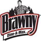 Brawny® Dine-A-Max™ Logo