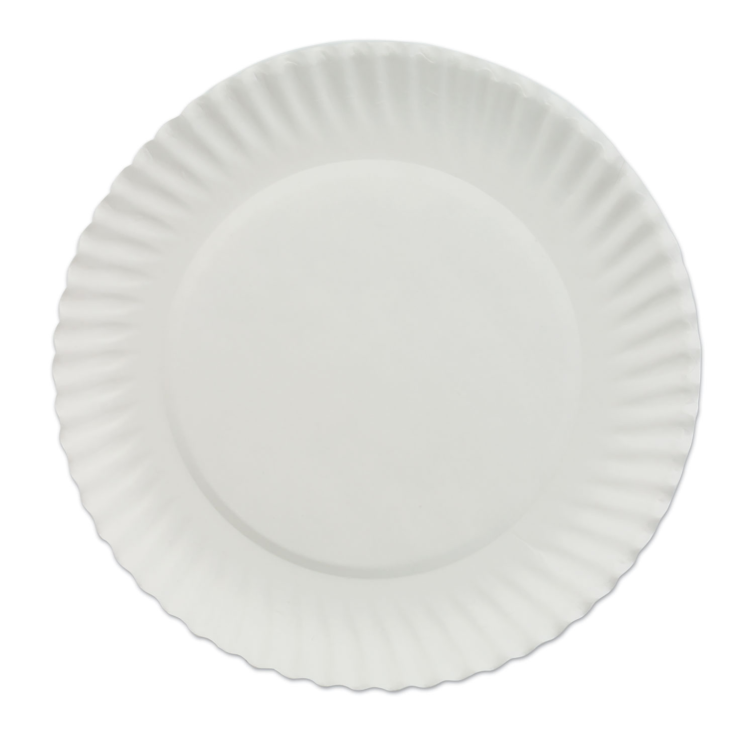 AJMPP6GREWH Thumbnail 1  sc 1 st  OnTimeSupplies.com & White Paper Plates by AJM Packaging Corporation AJMPP6GREWH ...