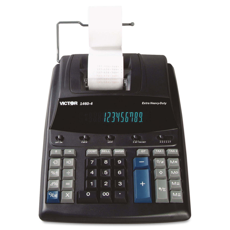 1460-4 Extra Heavy-Duty Printing Calculator, Black/Red Print, 4.6 Lines/Sec