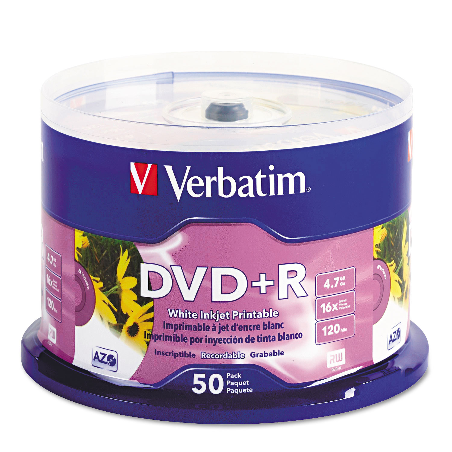 Versatile image pertaining to inkjet printable dvd