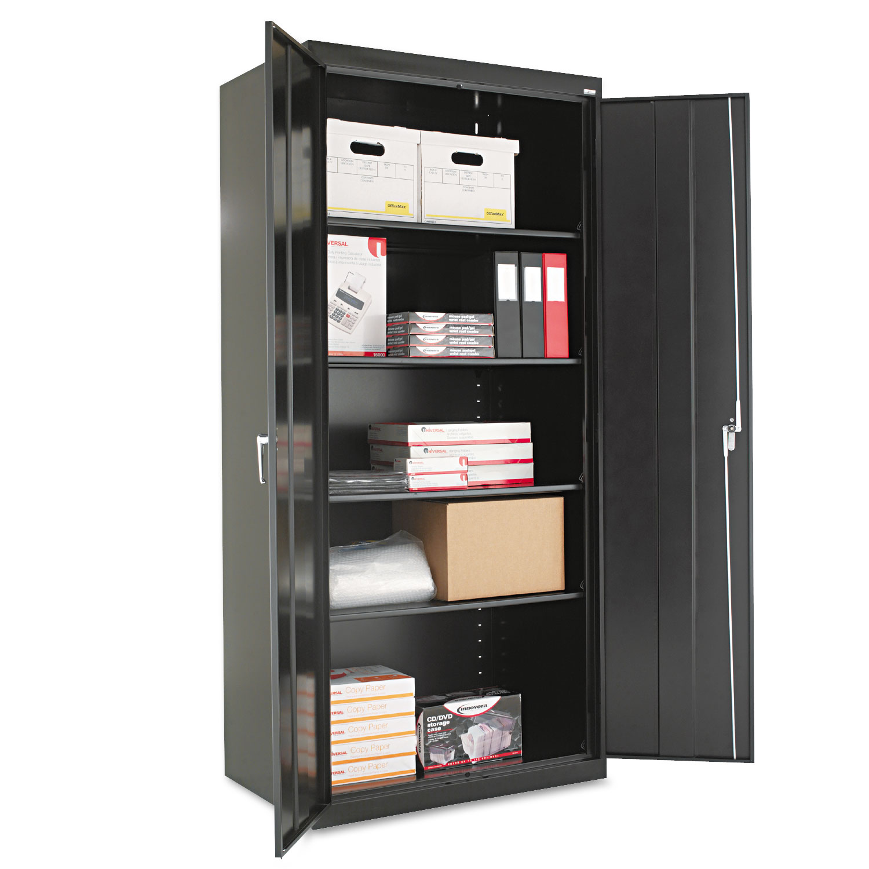 Storage Cabinet W Adjule Shelves