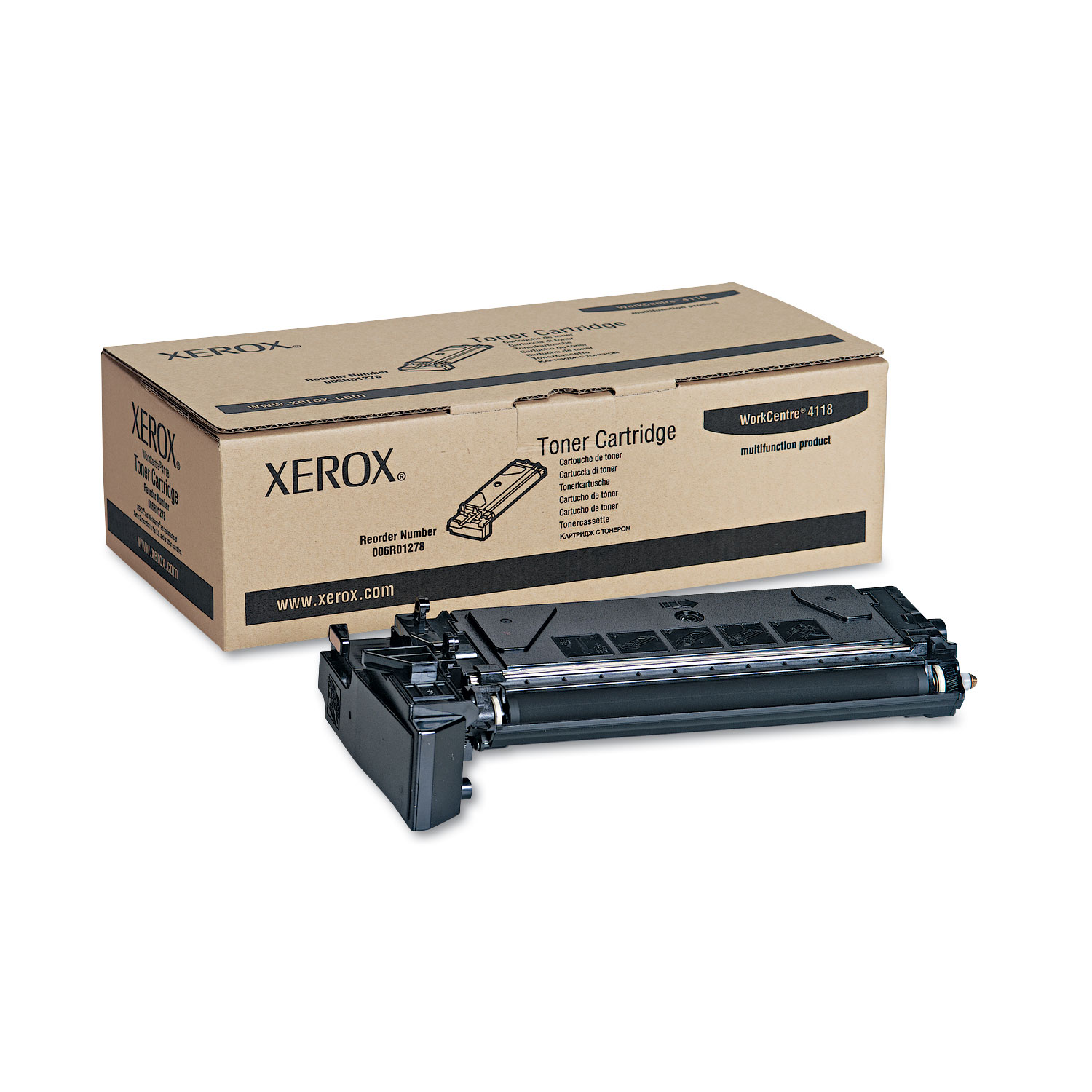 006R01278 Toner, 8000 Page-Yield, Black XER006R01278