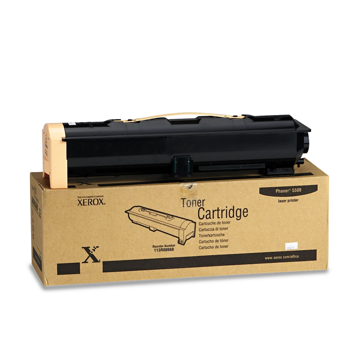 113R00668 Toner, 30000 Page-Yield, Black