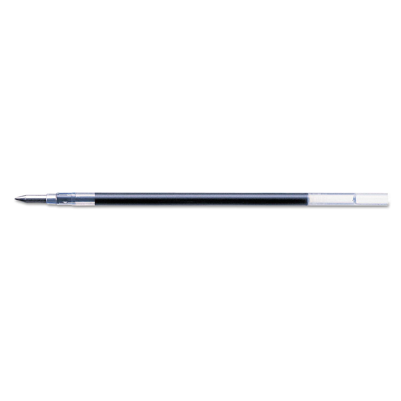 Refill For G-301 Gel Rollerball Pens, Med Point, Black, 2/Pack