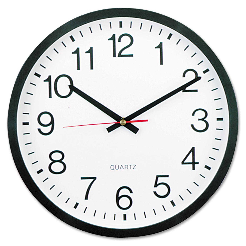 Round Wall Clock By Universal Unv10431 Ontimesuppliescom