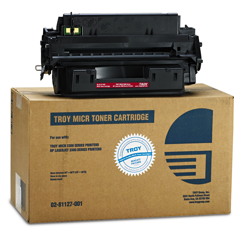 0281127001 10A MICR Toner Secure, Alternative for HP Q2610A, Black