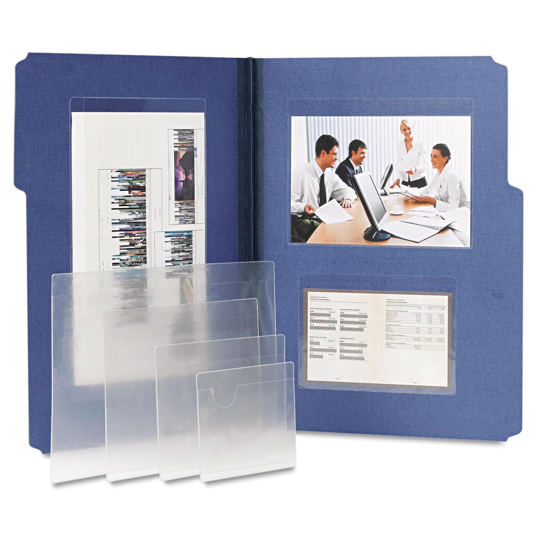 Self-Stick Clear Pockets by Smead | OnTimeSupplies.com ...