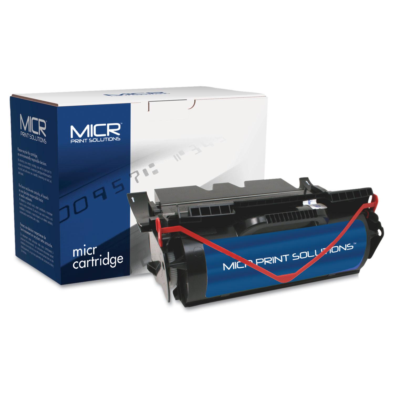 Compatible 64015SA (T640M) High-Yield MICR Toner, 21000 Page-Yield, Black