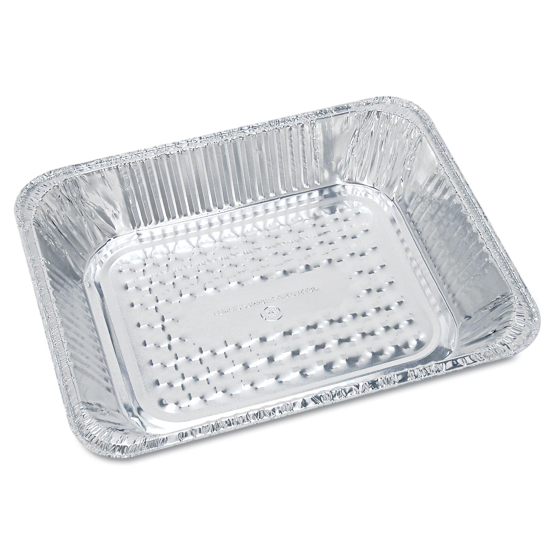 Steam Table Aluminum Pan, Half-Size, 1 11/16 Shallow, 100/Carton
