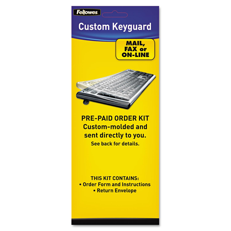 Keyboard Protection Kit, Custom Order, Polyurethane