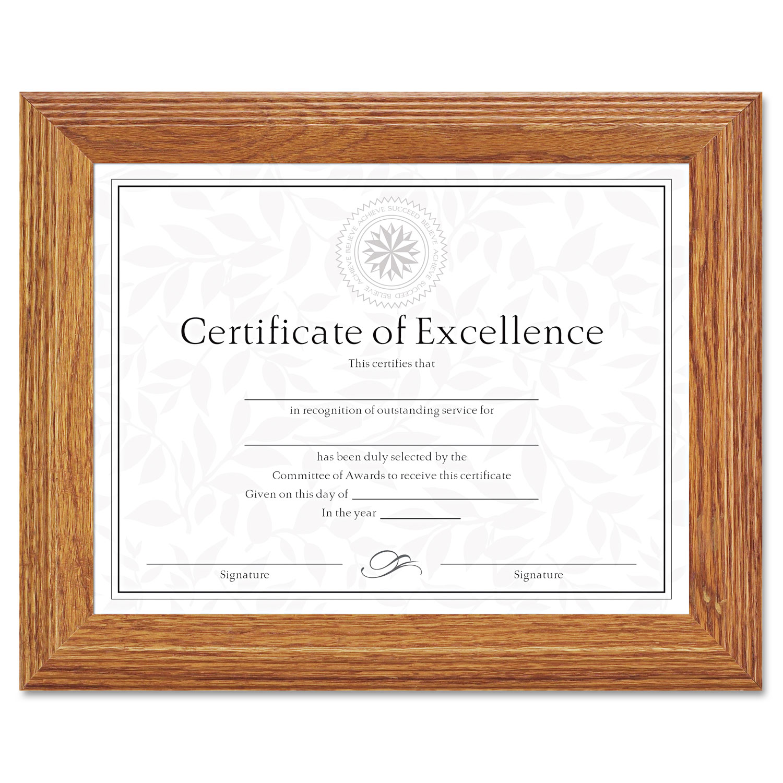 Document/Certificate Frame by DAX® DAX2703N8X - OnTimeSupplies.com