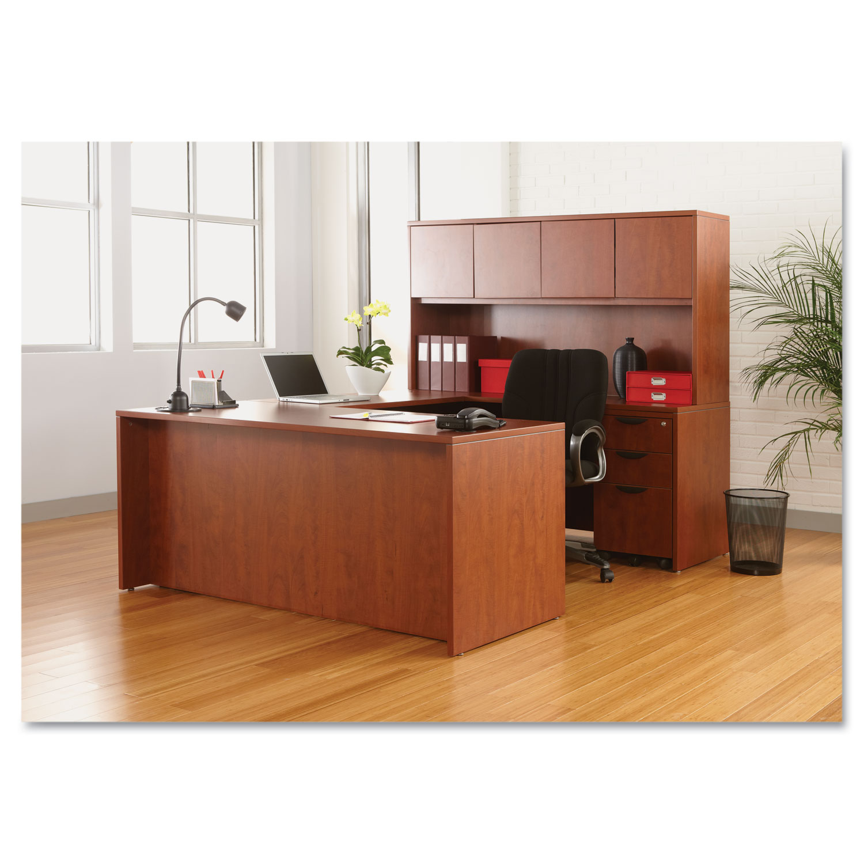 Alera Valencia Series Straight Front Desk Shell 65w X 29 1 2d 5 8h Cherry
