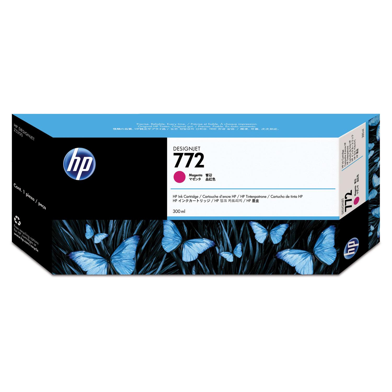 HP 771, (B6Y41A) 3-pack Magenta Original Ink Cartridges