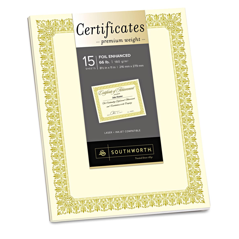 premium certificates by southworth souctp1v ontimesupplies com