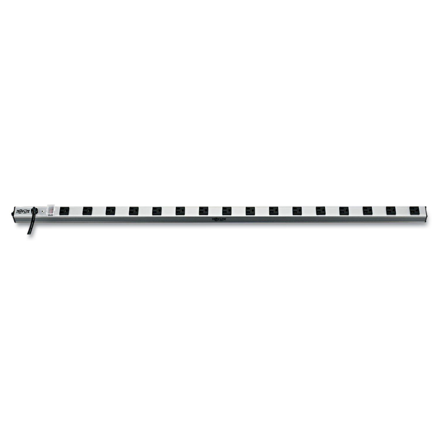 """Vertical Power Strip, 16 Outlets, 15 ft. Cord, 48"""" Length"""
