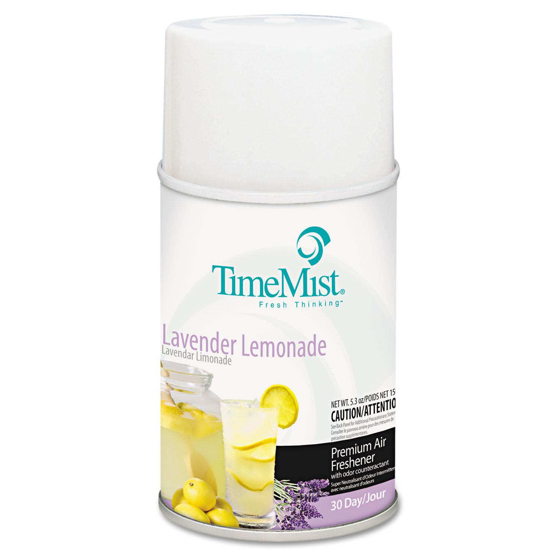 Premium Metered Air Freshener Refill, Lavender Lemonade, 5.3 oz Aerosol