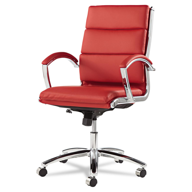 alera neratoli series mid back swivel tilt chair by alera alenr4239