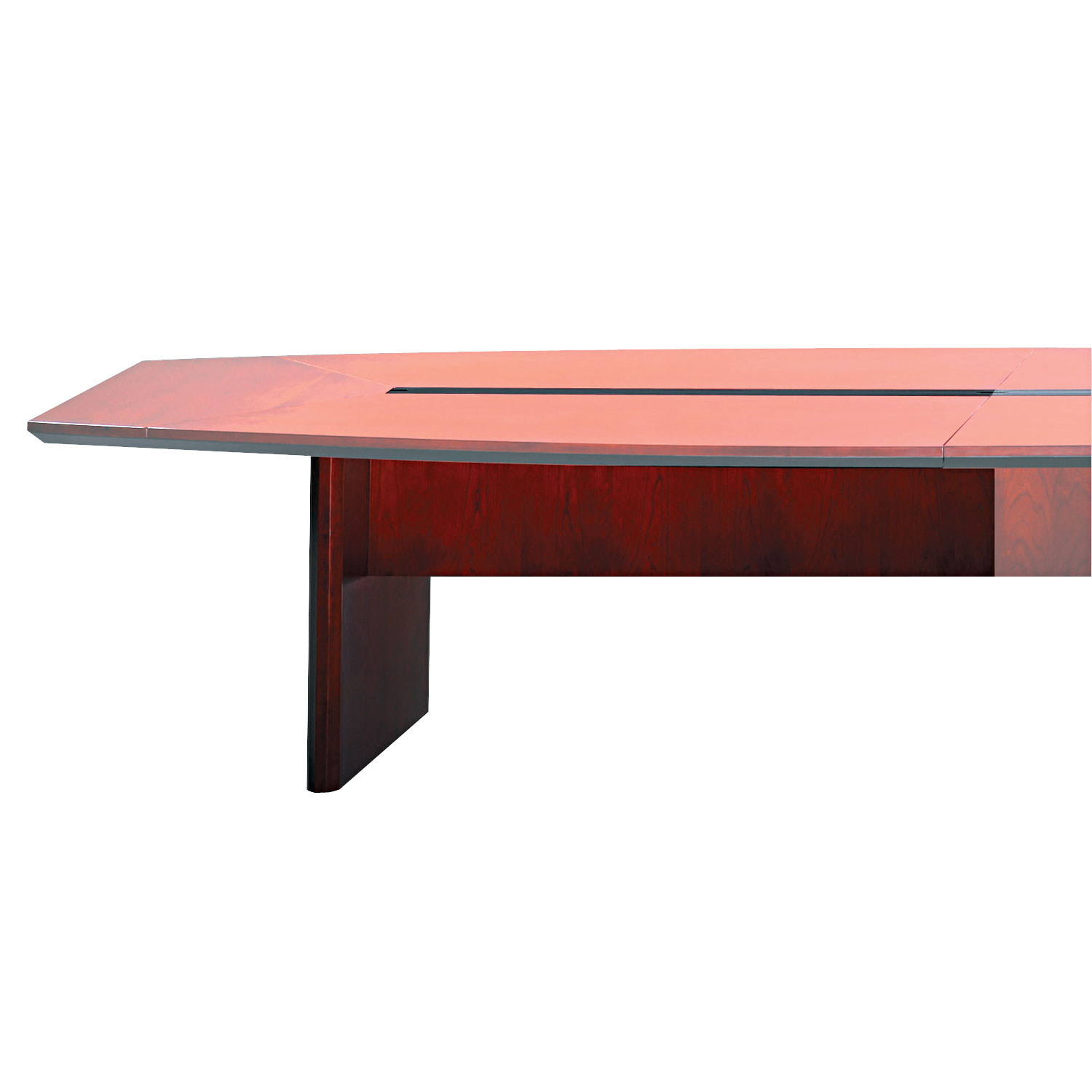 Corsica Conference Series Starter Modular Table Base By Safco - Cherry conference room table
