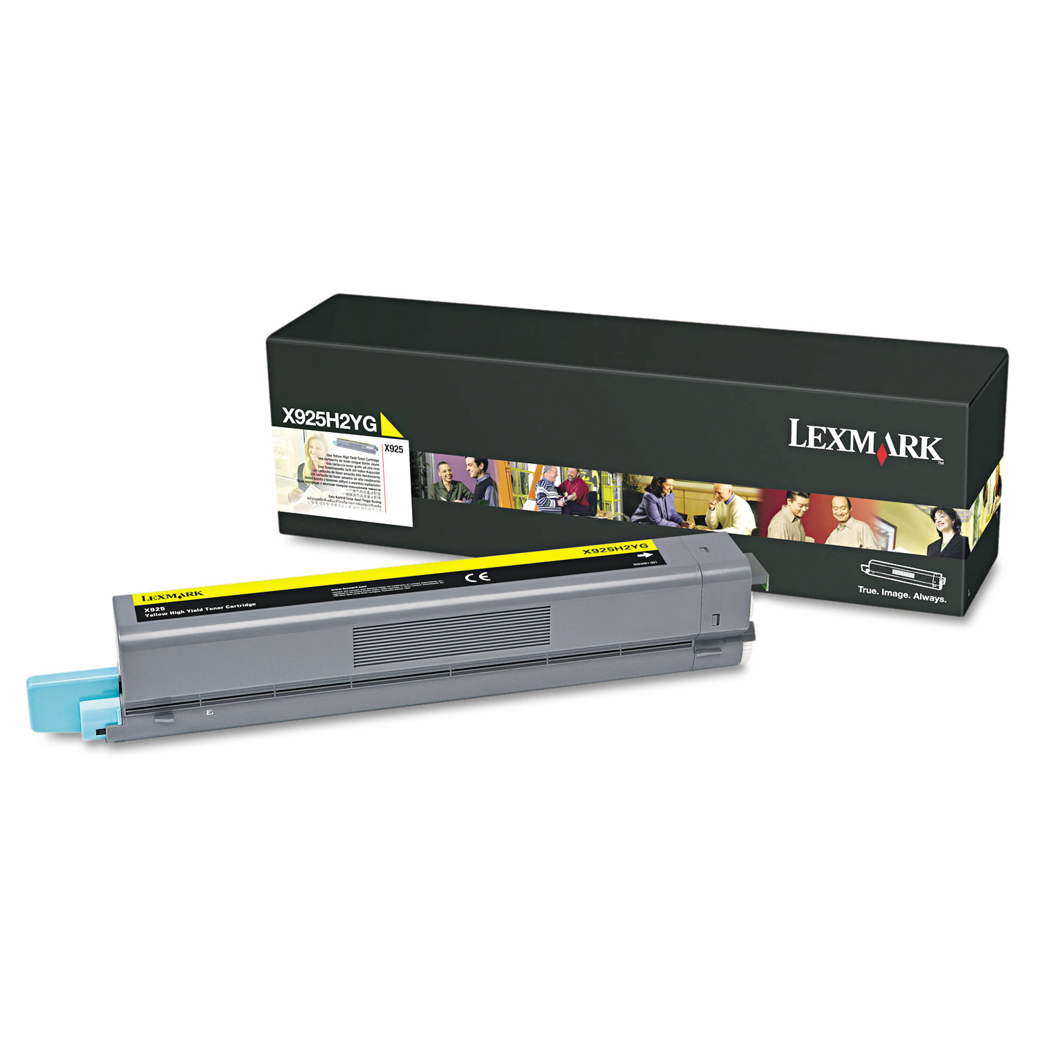 X925H2YG High-Yield Toner, 7500 Page-Yield, Yellow