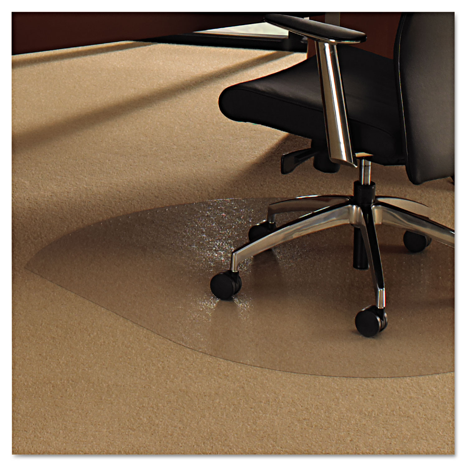 Cleartex Ultimat Polycarbonate Chair Mat For Low Medium