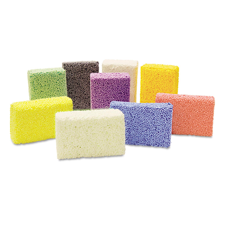 Squishy Foam Classpack, Assorted Colors, 36 Blocks