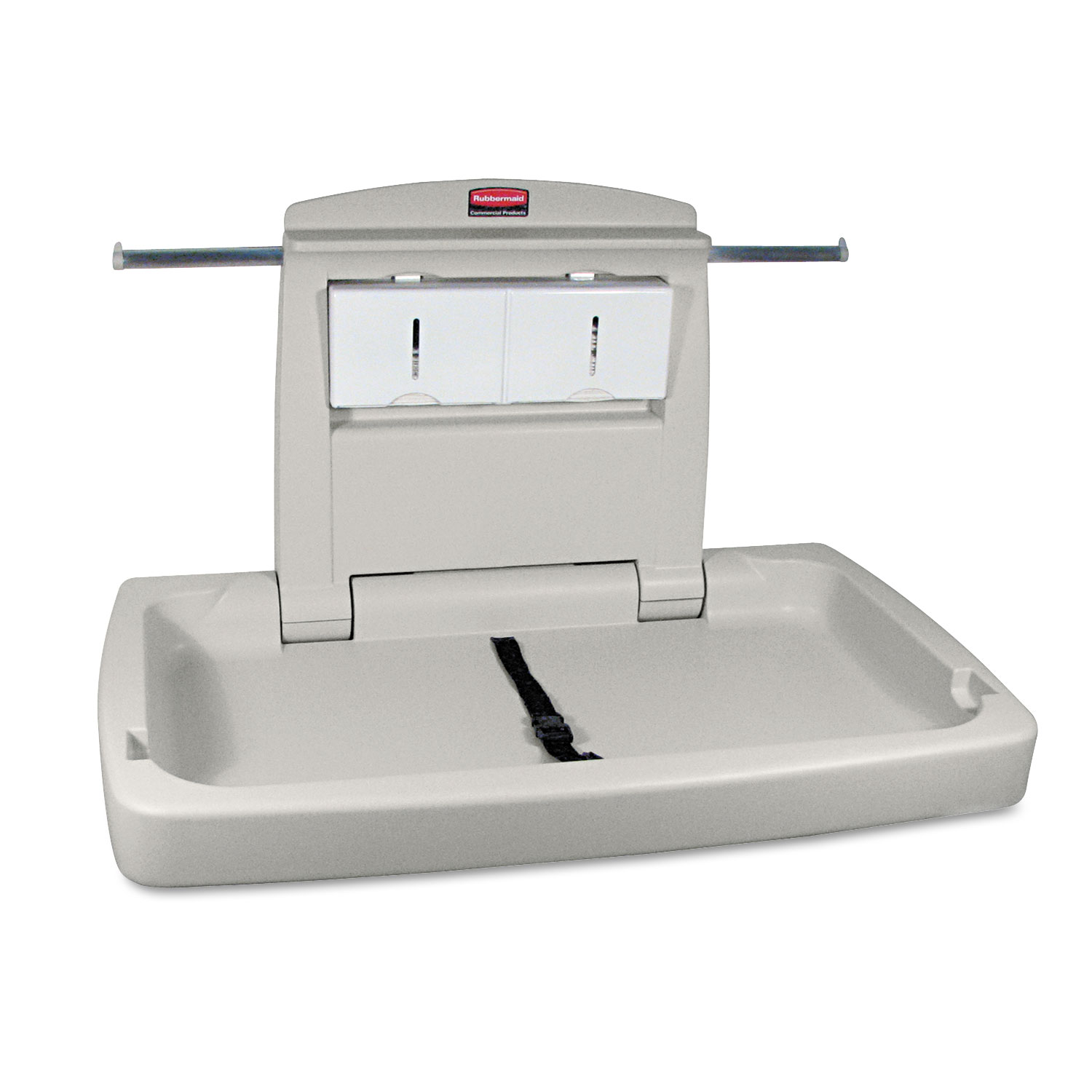 Sturdy Station Baby Changing Table By Rubbermaid Commercial - Commercial bathroom baby changing table