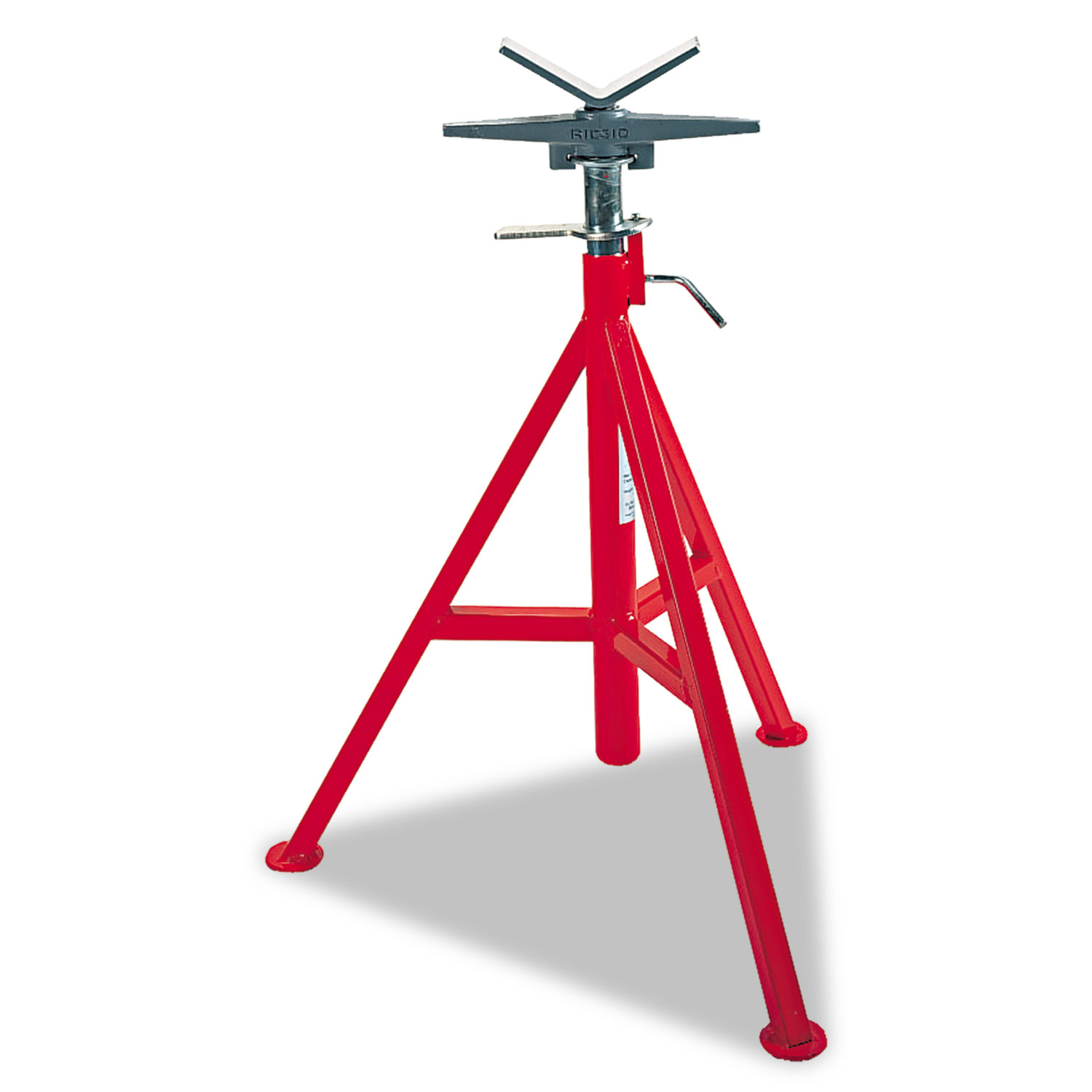 VJ-98 Low Pipe Stand, 20 to 38 High, Red
